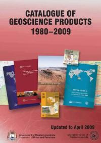 Catalogue of Geoscience Products 1980-2009