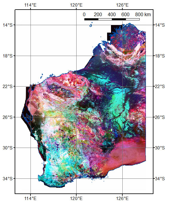 Radiometric grids (80 m) of Western Australia (2014 – version 1