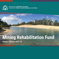 Mining Rehabilitation Fund Yearly Report now available