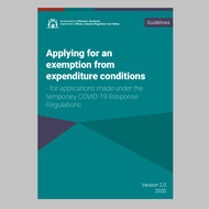 Expenditure exemption guidelines updated for greater clarity