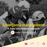 Emergency management - information session