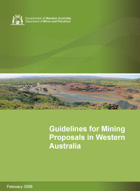 Guidelines for Mining Proposals in Western Australia